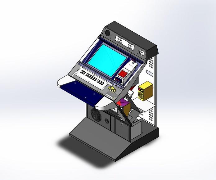 Máquina recreativa Kiosk7: Productos y servicios de 3DSWPRO