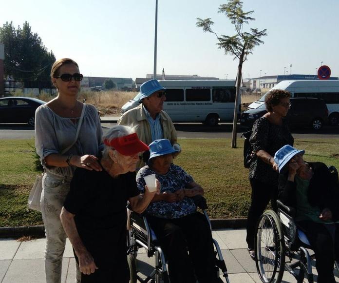 Residencia Geriátrica Novoger se suma a la Semana Europea de la Movilidad