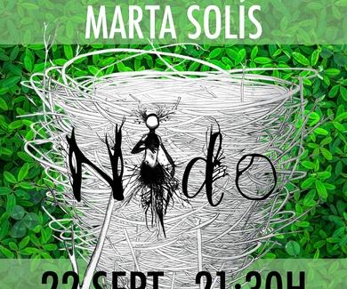 La extraordinaria voz de Marta Solís visita el Café Teatro Rayuela.