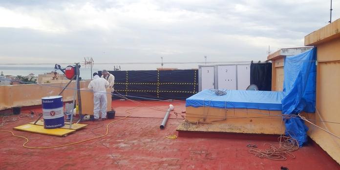 Retirada de amianto: Servicios de Trabajos Verticales Florinity