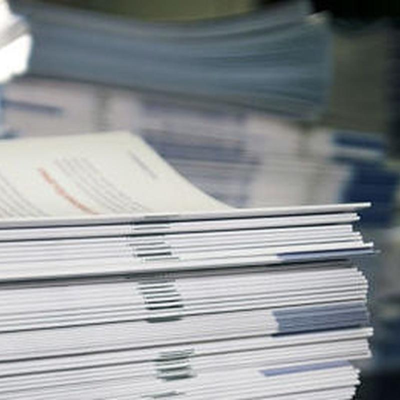 Encuadernación: Productos y Servicios de Papelería Dina
