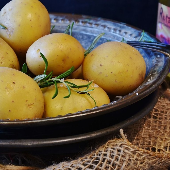 Los beneficios de las patatas