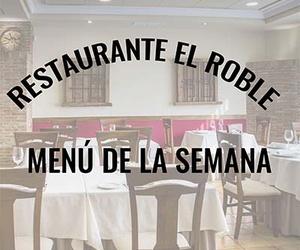 Restaurante El Roble Arganda del Rey, Menú semana del 23 al 27 de Noviembre de 2020.pdf