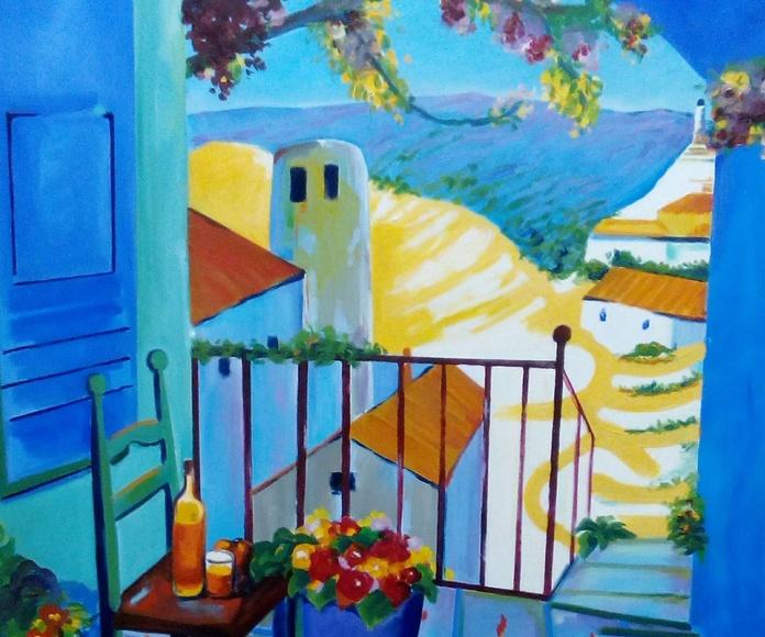 Terraza Mediterránea: CATALOGO de Quadrocomio La Casa de los Cuadros desde 1968