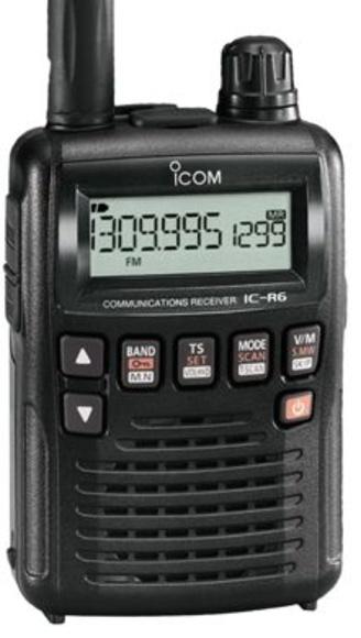 ICOM IC-R6: Catálogo de Olanni Electronics