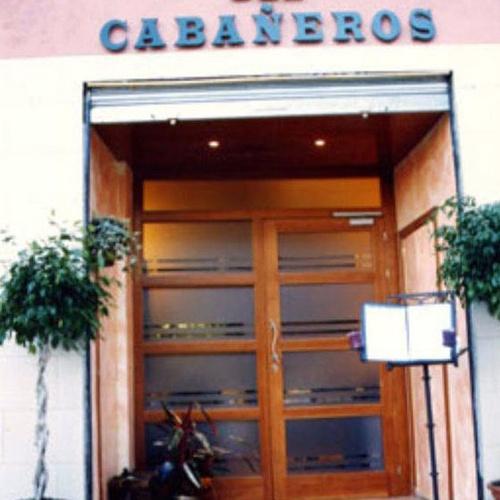 Entrada al restaurante Cabañeros