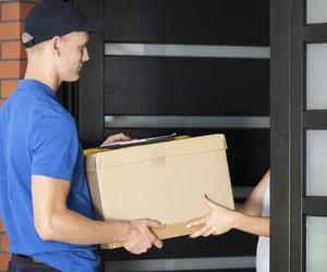 Entrega de paquetes y documentos