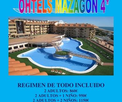 OFERTA OHTELS MAZAGON 4*