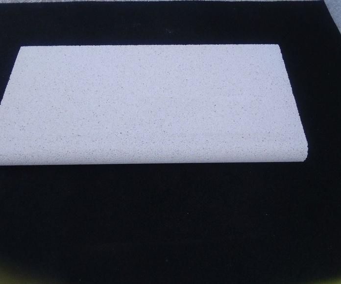albardilla recta tipo gancho 100 x 50 : Productos y Servicios de Bordes de Piscinas J. Antonio Alonso