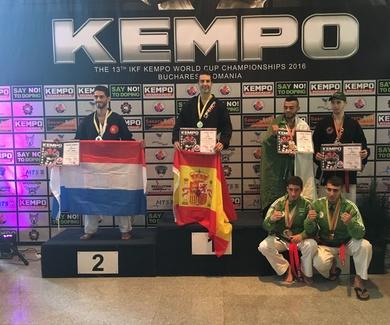 Ángel Ruiz vuelve a ser campeón mundial de kenpo en  2016