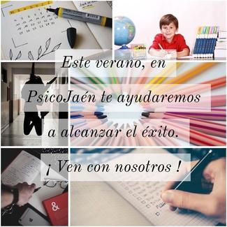 ESTE VERANO EN PSICOJAEN, TECNICAS DE ESTUDIO Y ESTRATEGIAS COGNITIVAS (Atencion, concentración,...)