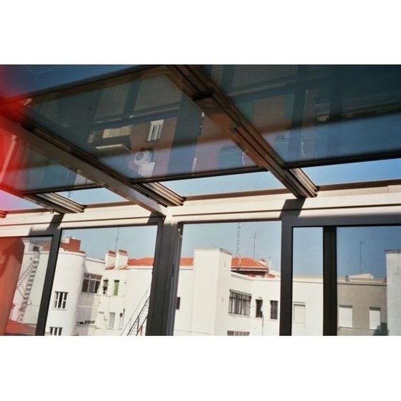 Cerramientos de terraza para particulares: Productos y Servicios  de Carpintería de Aluminio Pérez Gallego