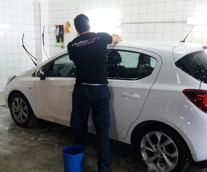 Limpieza del vehículo: Servicios de Mallorcars