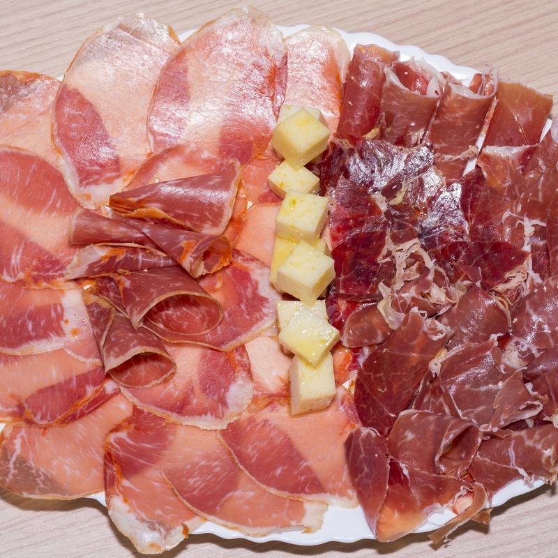 Raciones: Carta de Bar Restaurante El Caserío