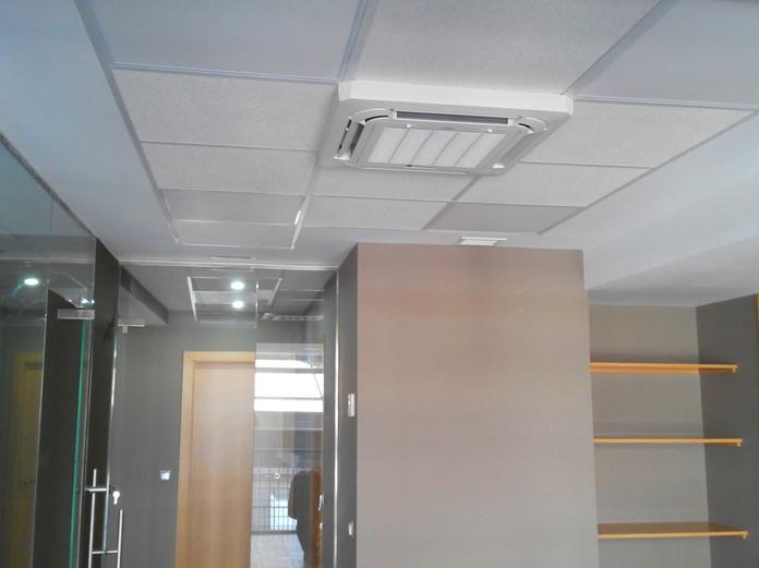 Obra: Oficina en Madrid: Obras, Servicios y Tarifas de Clima Renova