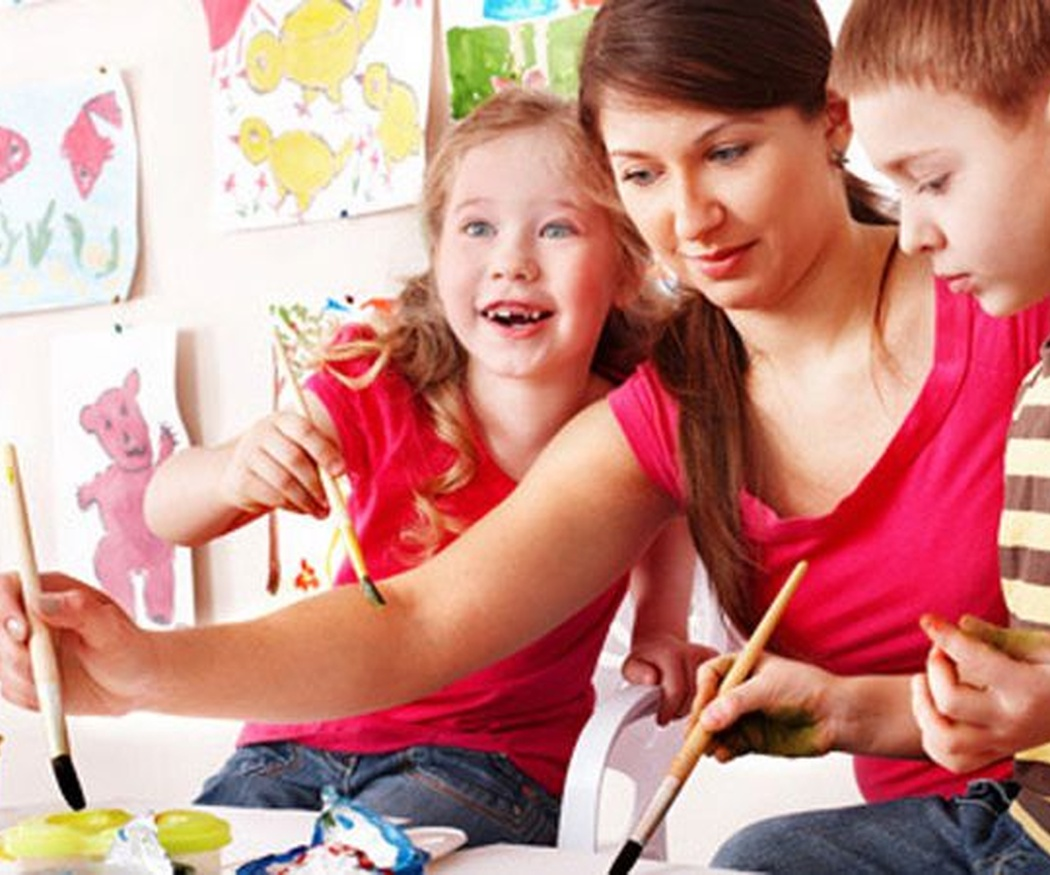 Consejos para enseñar a pintar a los niños
