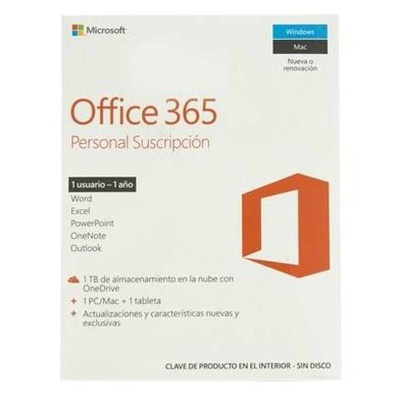 Microsoft Office 365 Personal Subscrip.1L/1A: Productos y Servicios de Stylepc