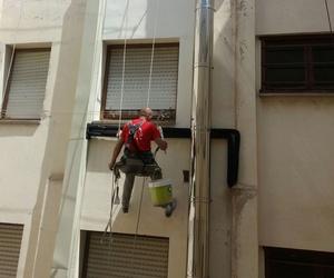Trabajos en altura en Logroño