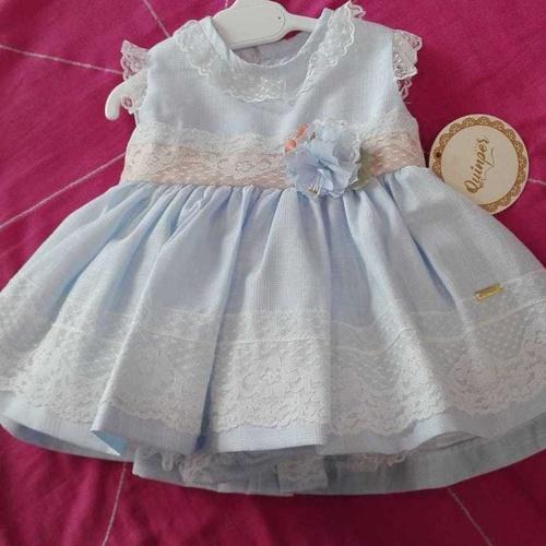 Vestidito para bebé Quinper