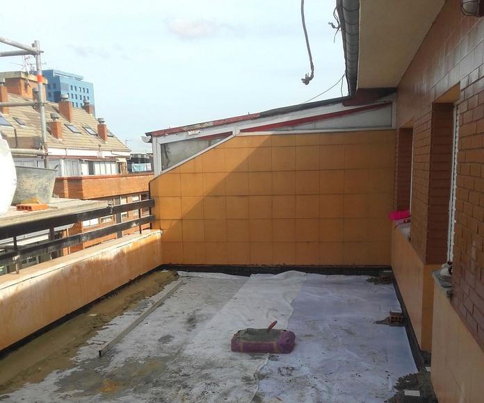 impermeabilizacion terraza oviedo