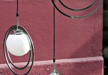 Lámpara pop años 70 REF: LAM399