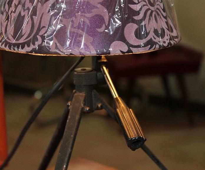 Lampara trípode para mesa: Artículos  de Ruzafa Vintage