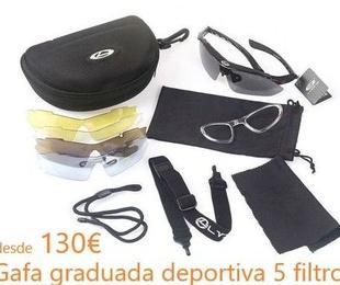 Gafa deportiva graduada desde 130€