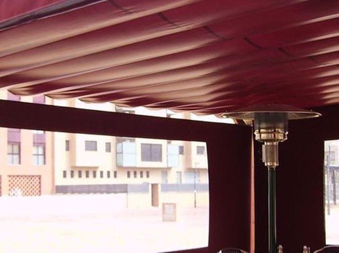 Calefactores de infrarrojos para terrazas