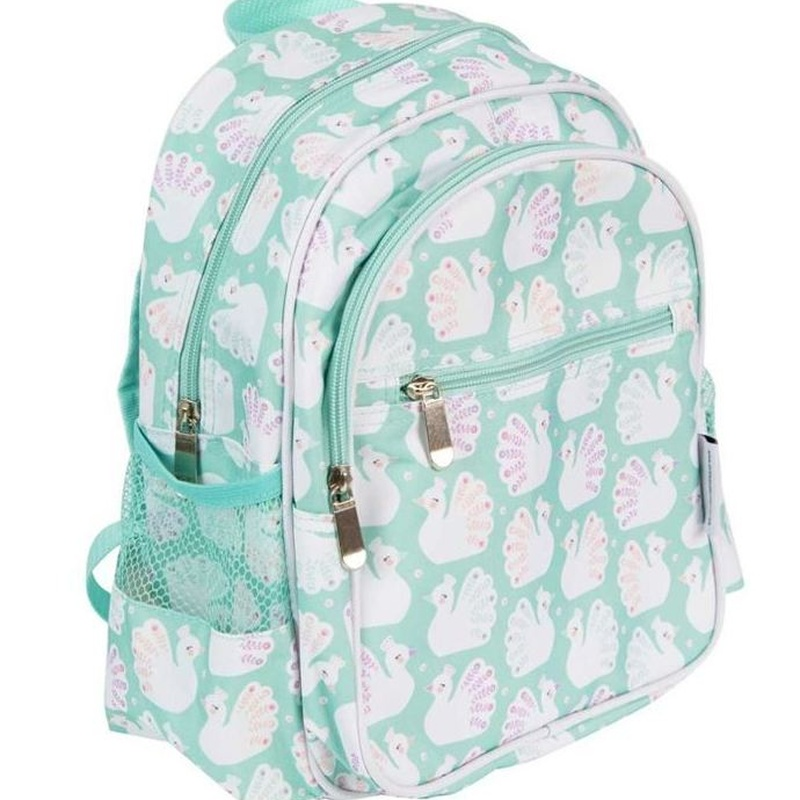 Mochila Pequeña Pavo Real A Little Lovely Company: Productos de Mister Baby