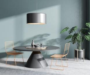 ¿Mesa de comedor redonda o rectangular?