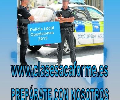 NUEVAS PLAZAS POLICÍA LOCAL - Luz verde a la jubilación anticipada.