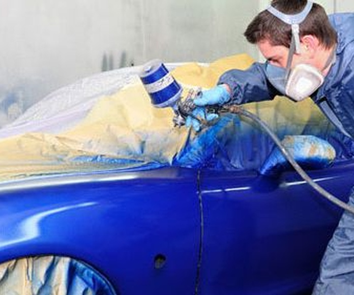 Chapa y pintura: Servicios de Automóviles Santos