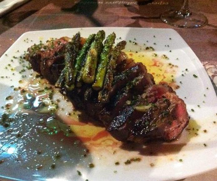 Raciones elaboradas al momento: Nuestros platos  de Casa de Comidas Montero