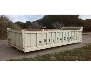 Transporte y alquiler de contenedores de obras de 4, 7, 12, 14, 22 y 30 m³