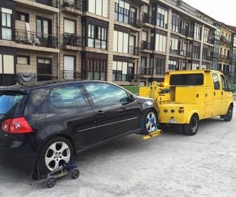 Grúas para industriales (camiones, plataformas y autobuses): Catálogo de Gruauto Asistencia