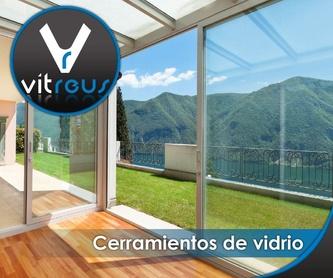 Puertas correderas: Servicios de Vitreus - Vidres i Miralls