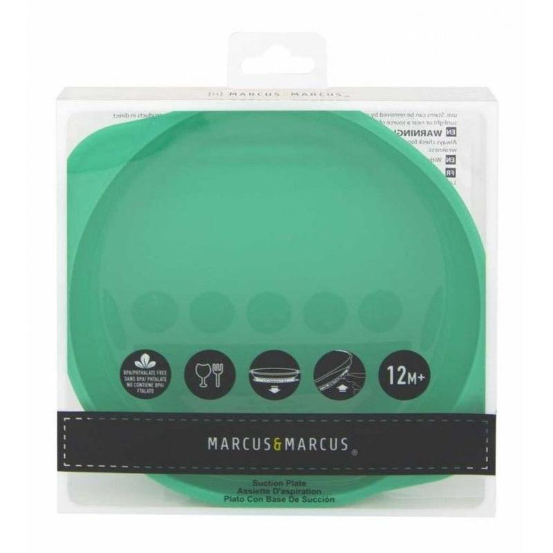 Plato Silicona con Ventosa Animalitos Marcus & Marcus: Productos de Mister Baby