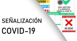 Catálogo de señalización Covid-19