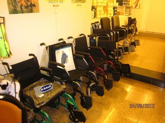 Alquiler de sillas de ruedas : Catálogo de Ortopedia Crif