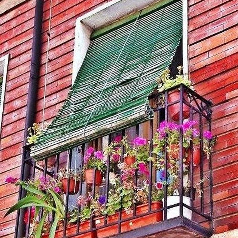 Persianas florencias de madera