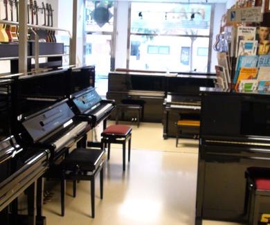 Pianos de ocasión en la calle Sicilia , Barcelona, con los mejores precios en L'Art Guinardó