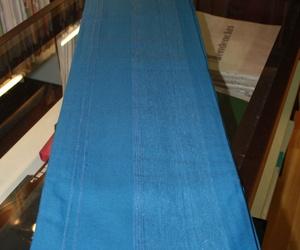 Natura. Colcha multiusos azul. 100% algodón 170*250