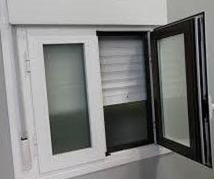 VENTANAS DE PVC Y ALUMINIO EN BICOLOR: Servicios de Exposición, Carpintería de aluminio- toldos-cerrajeria - reformas del hogar.