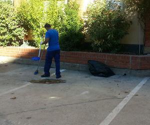 Limpieza de aparcamientos y garajes