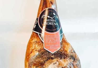 Paleta ibérica de cebo 50% raza Ibérica sierra morena 6kg