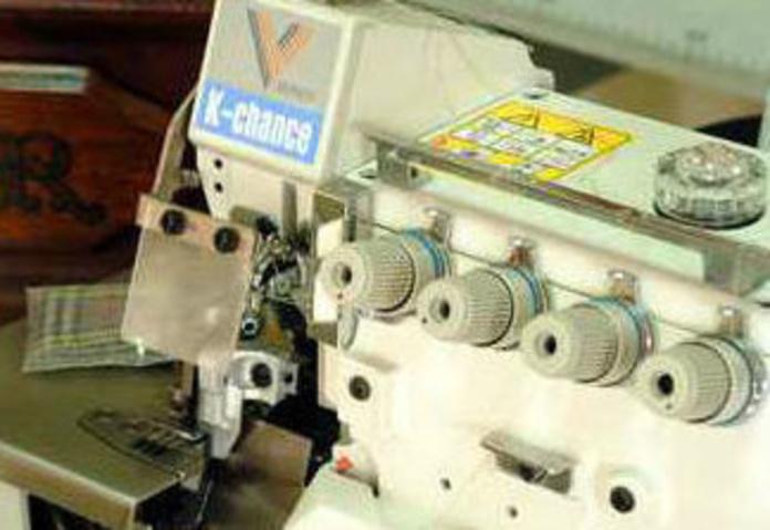 Máquinas industriales para confección: Productos y servicios de Sercovalls 2002