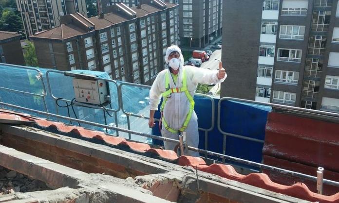 Retirada de amianto o uralita en Asturias efectuada por técnicos cualificados
