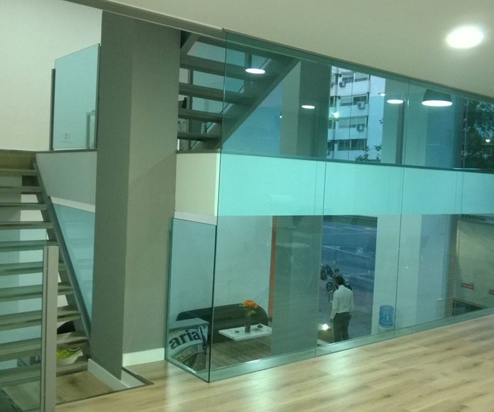 Escaleras: Catálogo de LMC Glass