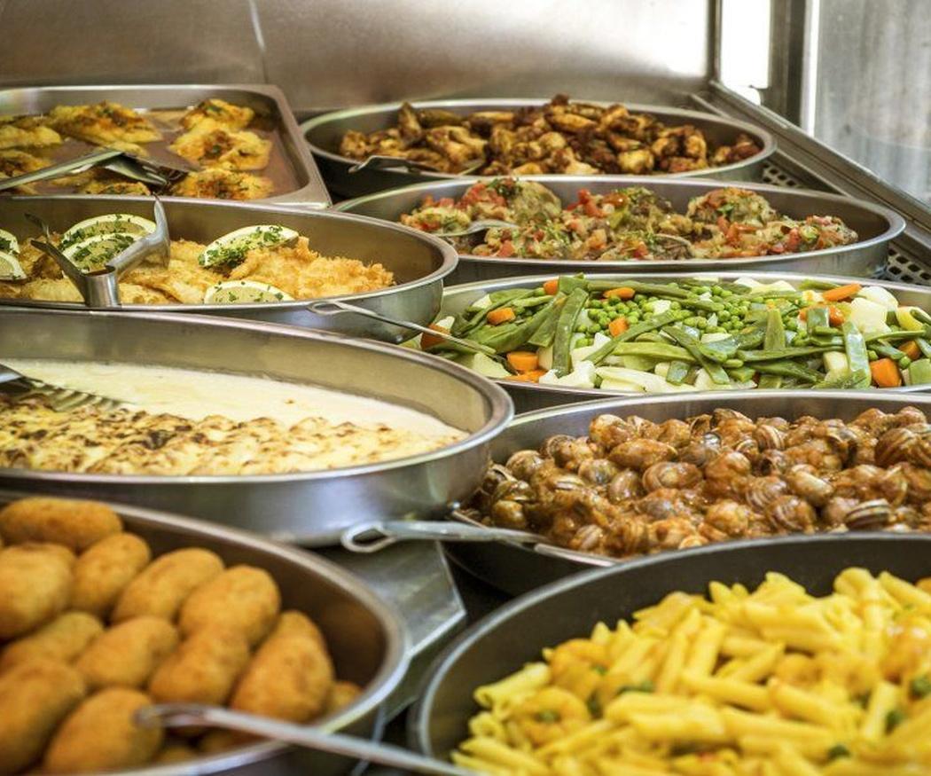 El sitio ideal para comer siempre comida casera