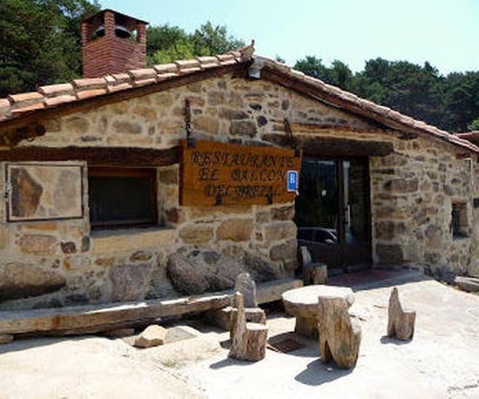 Restaurante carta Vinuesa